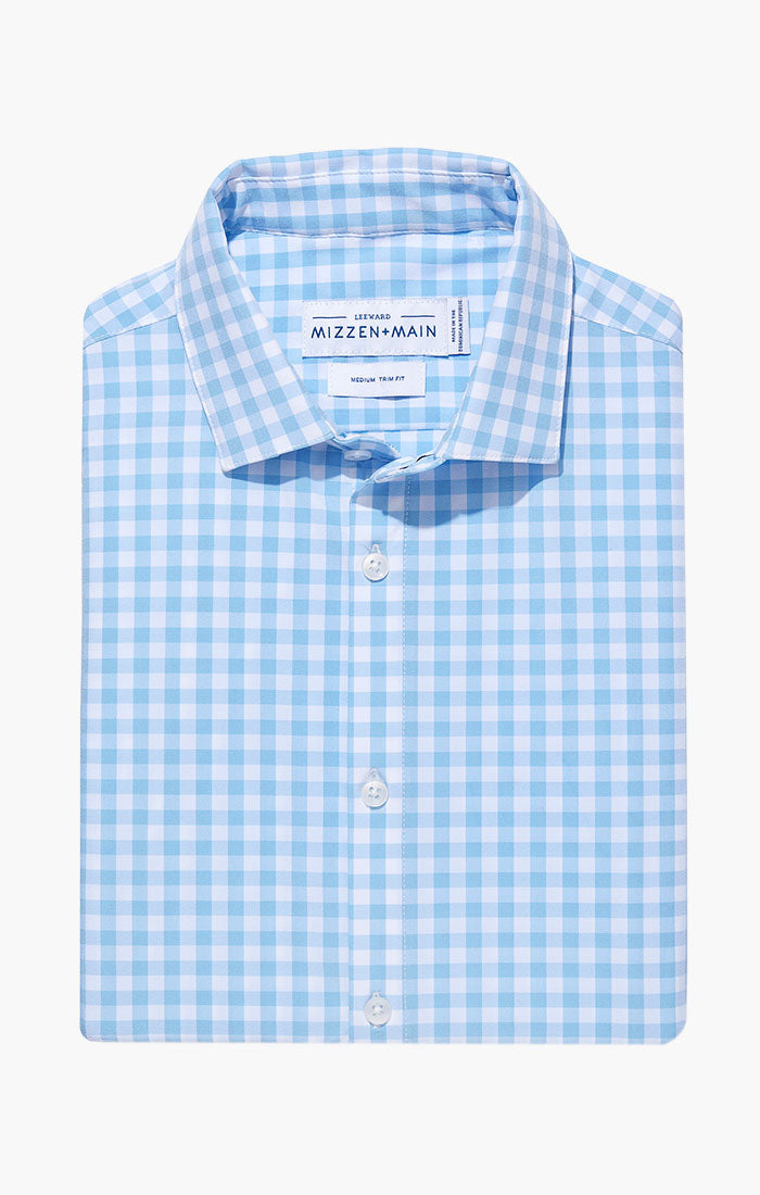 HAMPTON LIGHT BLUE LARGE GINGHAM