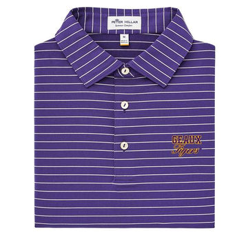 Peter Millar - Geaux Tigers Stripe Knit