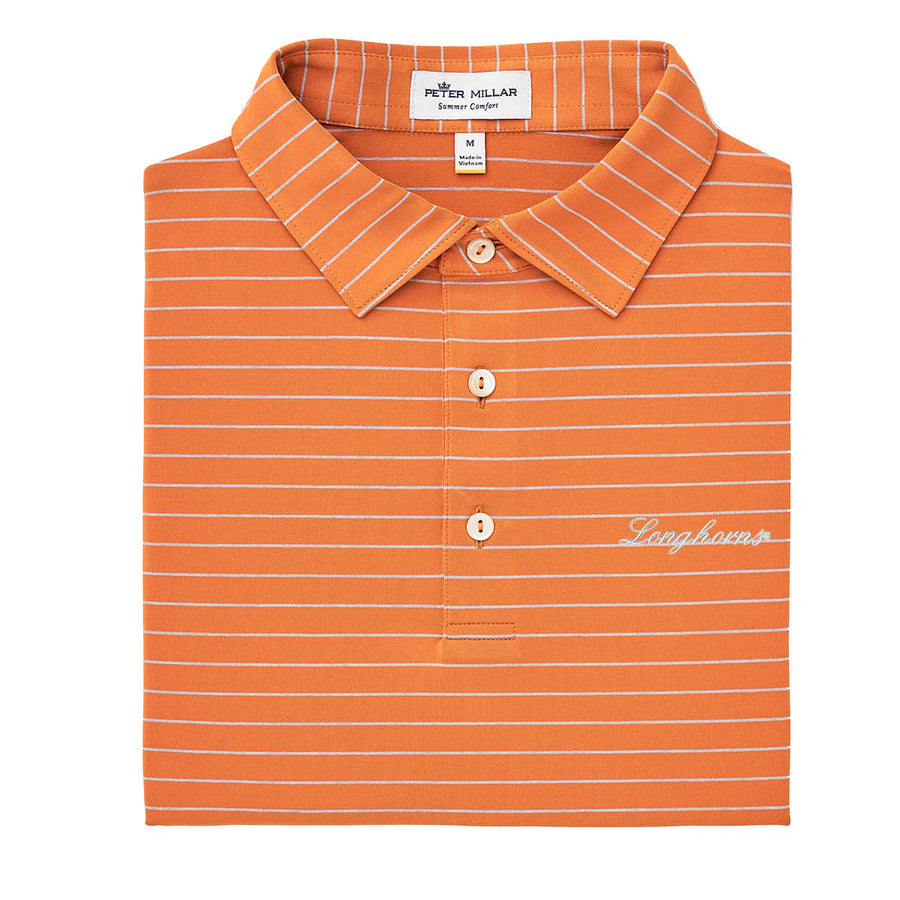 Peter Millar - Longhorns - Orange Stripe