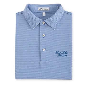 Peter Millar - Big Blue Nation - Blue/White Stripe