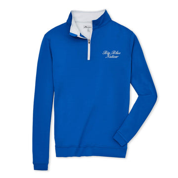 Peter Millar - Big Blue Nation - Blue 1/4 Zip