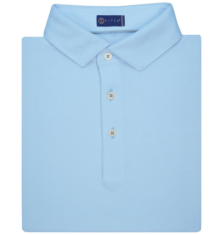 SOLID OXFORD POLO