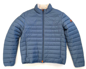 SAVE THE DUCK FAUX SHERPA LINING - STEELE BLUE