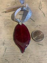 Load image into Gallery viewer, Chokecherry Leaf Ornament