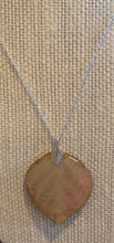 Load image into Gallery viewer, Aspen Leaf Sterling Silver Necklace