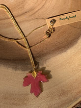 Load image into Gallery viewer, Maple Leaf Gold Necklace