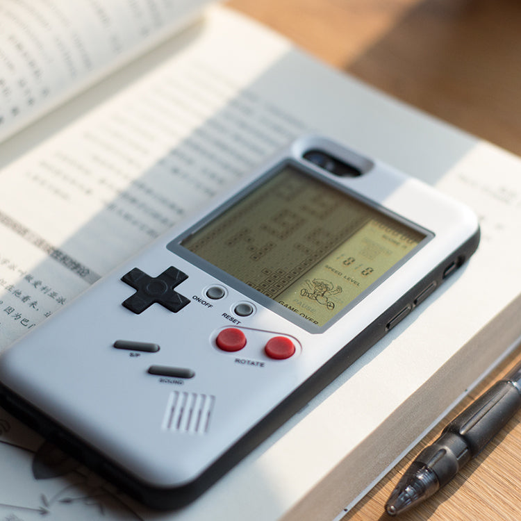 iPhone (X,8,7,6) Playable Retro Console Case