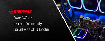 ENERMAX USA Extends All-in-One CPU Liquid Cooler Warranty Up to 5 Years