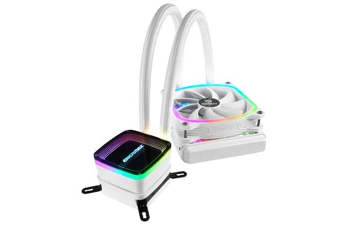 AQUAFUSION 120mm aRGB Liquid CPU Cooler - White