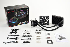 (Open Box) AQUAFUSION 120mm aRGB Liquid CPU Cooler