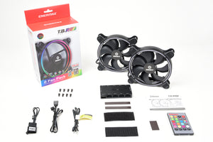 T.B. RGB RGB 140MM PWM Fan (2-Pack)