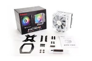 ETS T50 AXE ARGB Air CPU Cooler - White