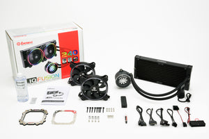 LIQFUSION 240mm aRGB Liquid CPU Cooler
