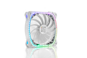 SquA RGB aRGB 120MM PWM Fan - White