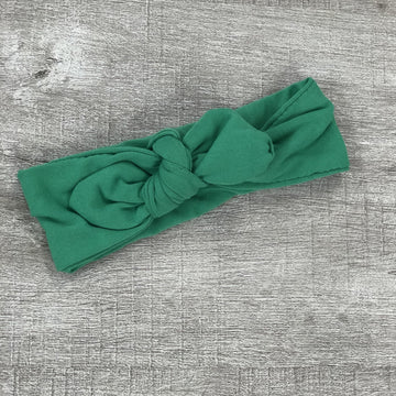 JENA BUG KNOT BOW HEADBAND | GREEN