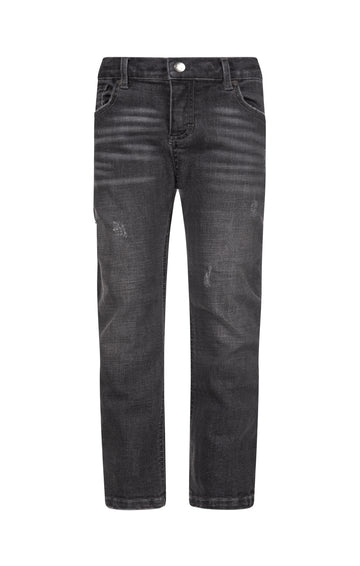 APPAMAN SLIM LEG DENIM IN GRAY WASH