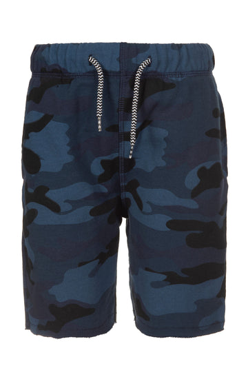 APPAMAN CAMP SHORTS | NAVY CAMO