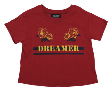 TINY WHALES DREAMERS BOXY TEE