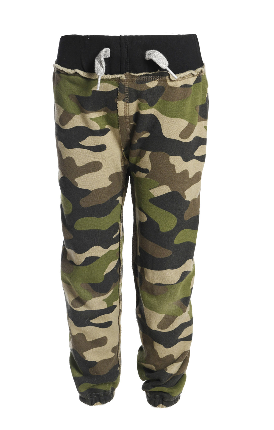 APPAMAN GYM SWEATS IN GREEN CAMO