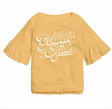 TINY WHALES GOLDEN CHILD BELLE SLEEVE TEE