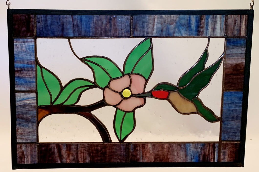18 X 12 Hummingbird Panel