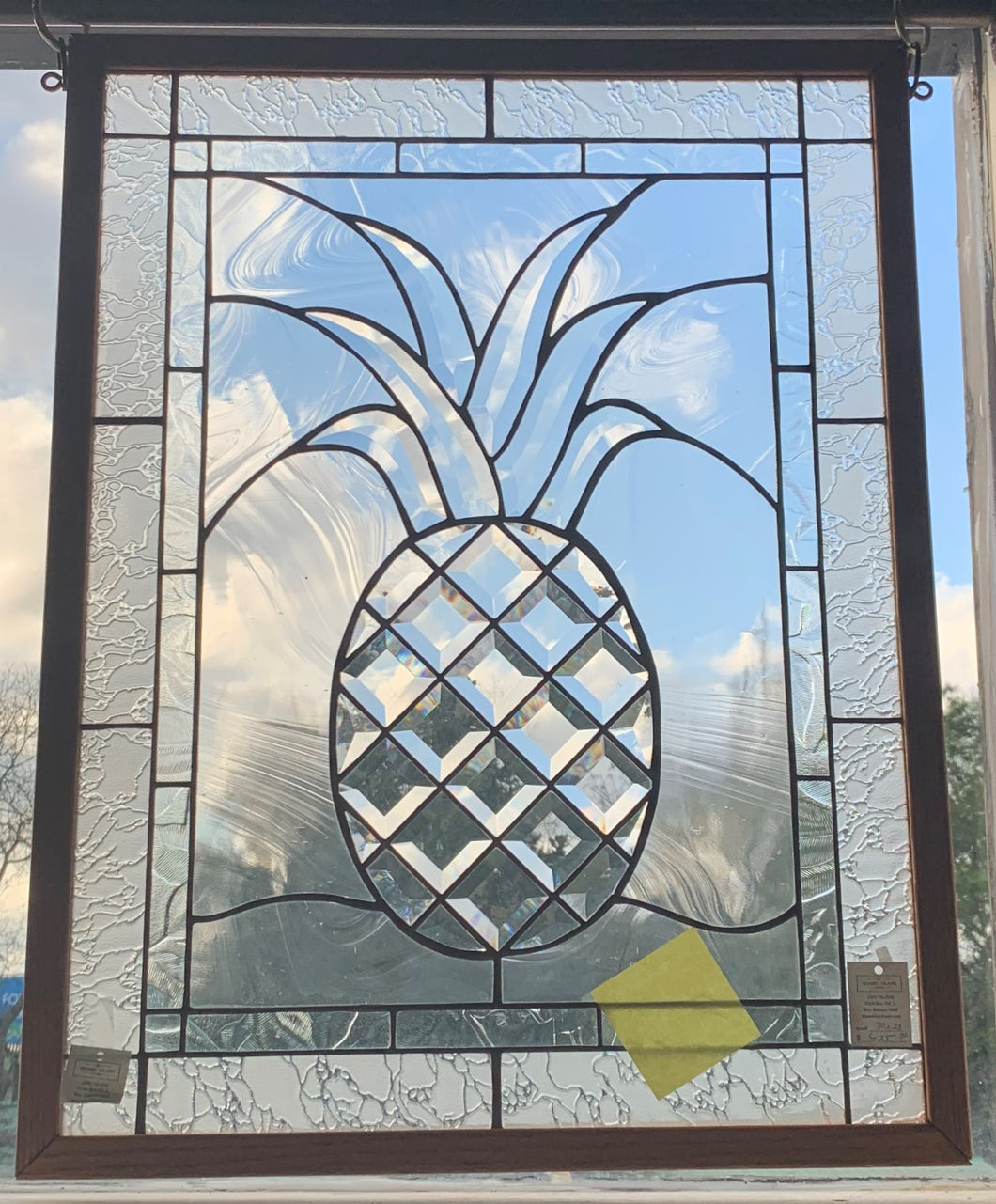 30 X 23 Beveled Pineapple