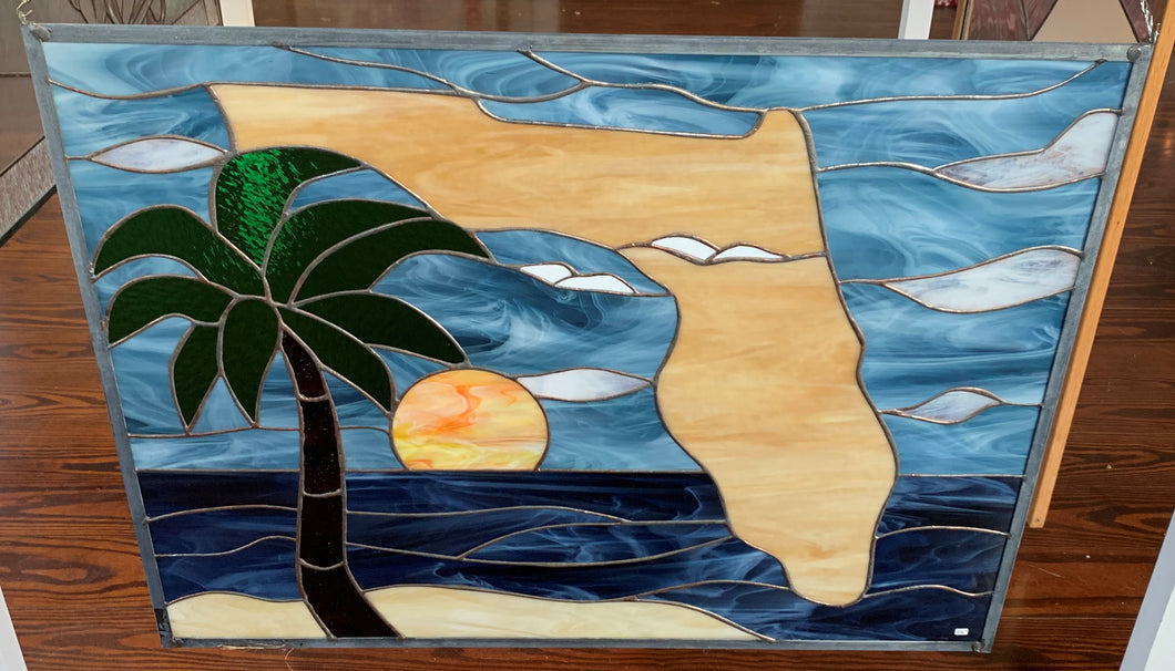 33 X 25 State of Florida Panel
