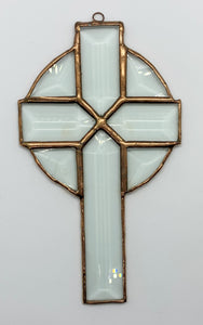 Circle Beveled Cross