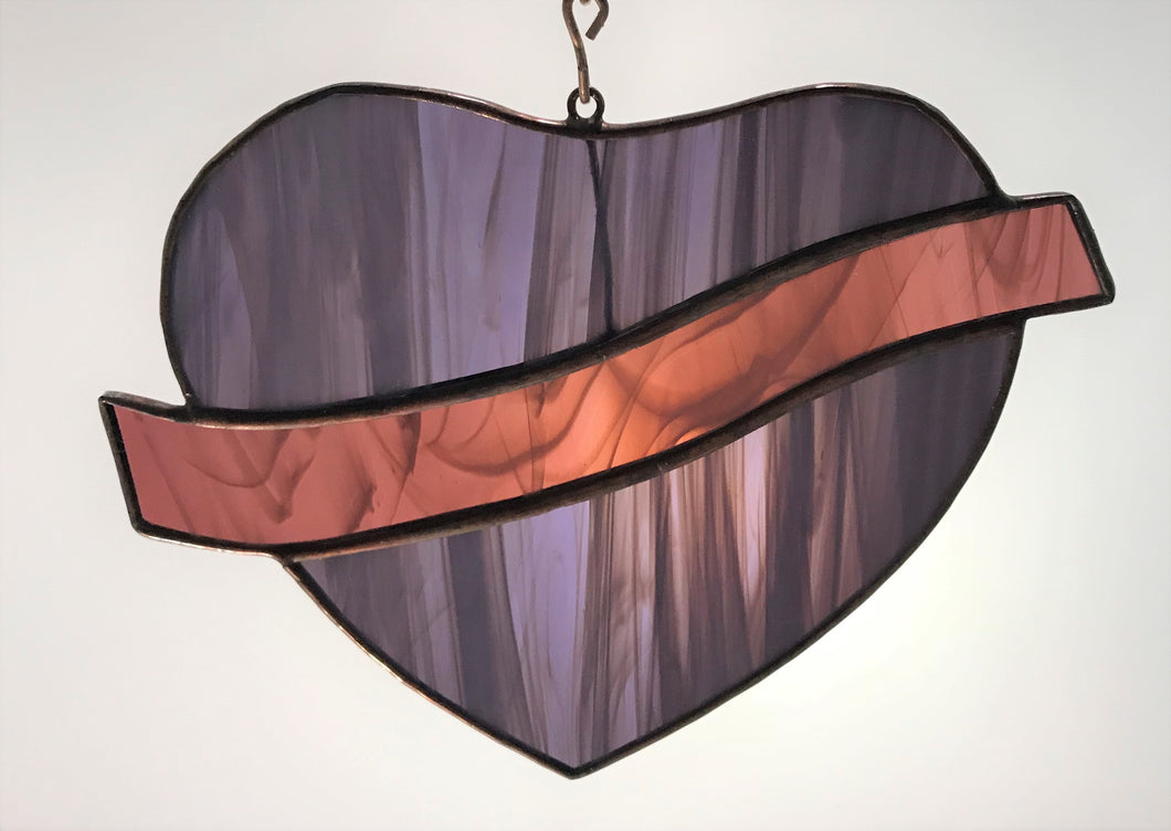 Sm Hanging Heart with Sash