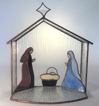 One Piece Nativity with Manger