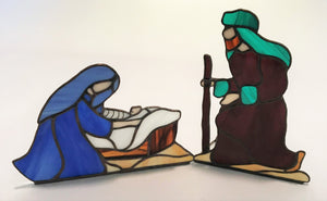 Large Nativity - Mary, Baby Jesus and Joseph