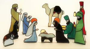 Sm 11 Piece Nativity