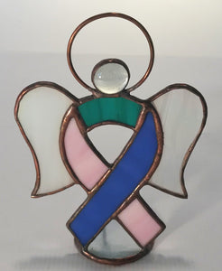 Cancer Ribbon Angels