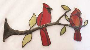 Large Branch with Bird $145