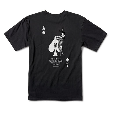 Playboy Ace of Spades Tee - Black