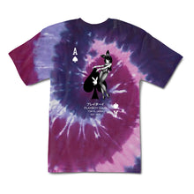 Load image into Gallery viewer, Playboy Ace of Spades Tie Dye Tee