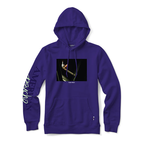 American Psycho Chainsaw Hood - Purple