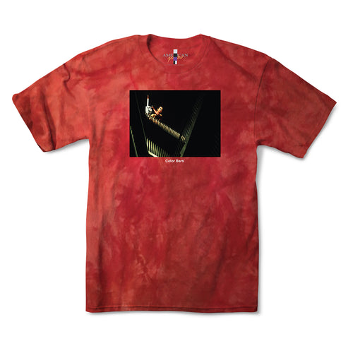 American Psycho Chainsaw Tee - Blood Red