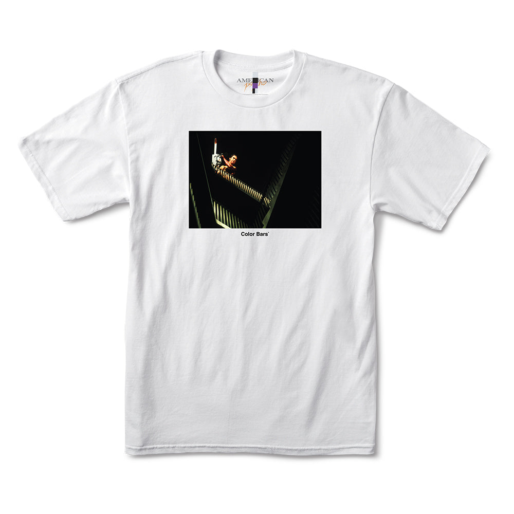 American Psycho Chainsaw Tee - White