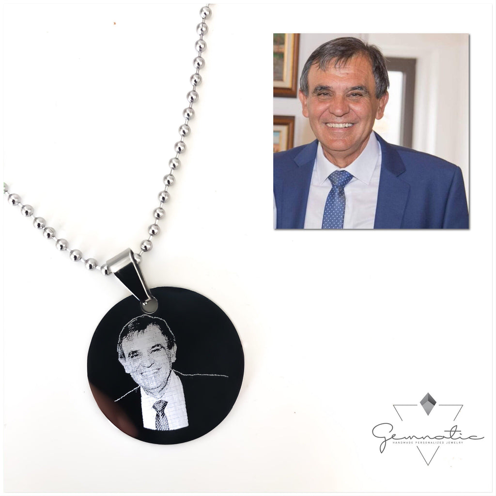 Picture Necklace, Memorial Keepsake Gift, Photo Necklace