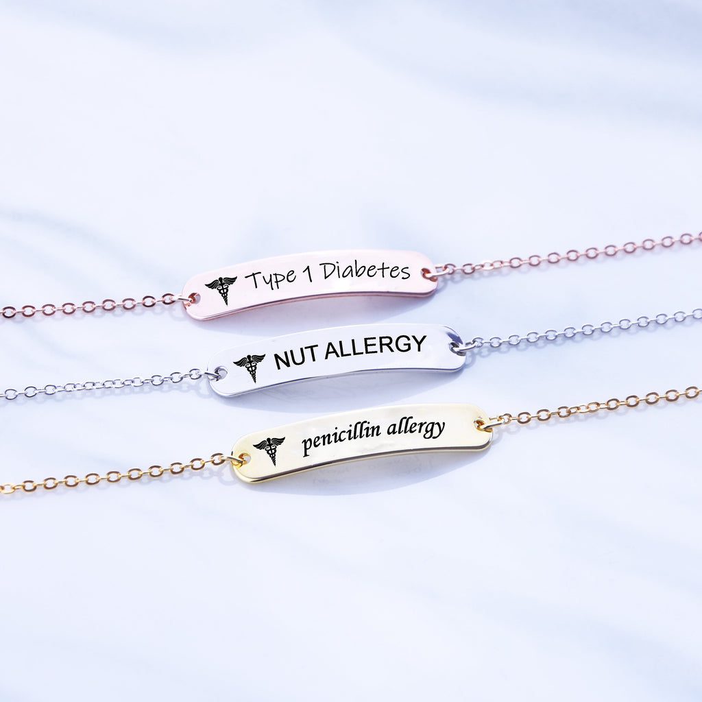 Medical Alert Bracelet Women Medical Id Bracelet Women Autism Bracelet for Kids Diabetic Bracelet Medical Jewelry