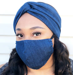 Adult Full Coverage Masks - Customizable Elastic - Levi