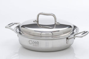 Stainless Steel Stock Pot with Cover / Slow Cooker from 360 Cookware
