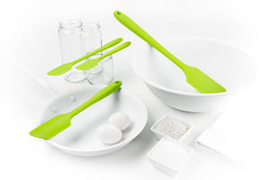 Get It Right All Silicone Mini, Skinny & Ultimate Spatula 3 Pc Set
