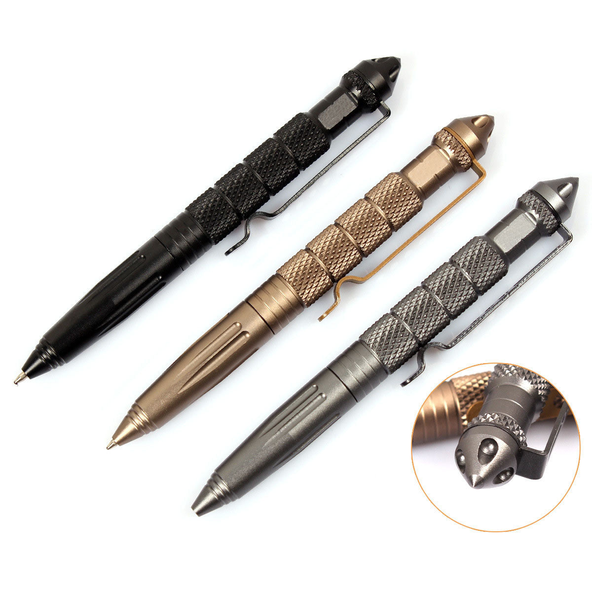 Deluxe Tactical Survival Pen