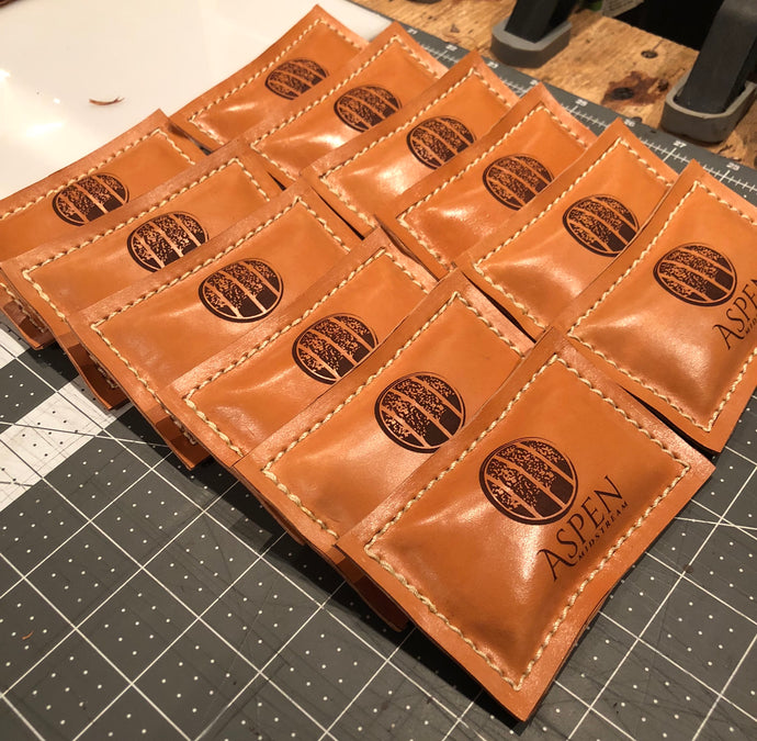 Leather Bean Bag Paper Weights