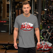 Load image into Gallery viewer, Athletic Grey Logo T-Shirt - Full House Custom Leather