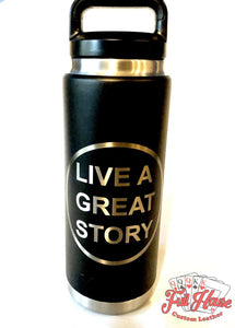 BYOT - Tumbler Engraving - Graphic Only - Full House Custom Leather