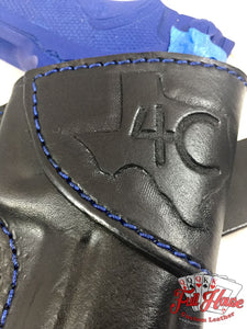 Custom Leather Pancake Holster - Made to Order - Full House Custom Leather