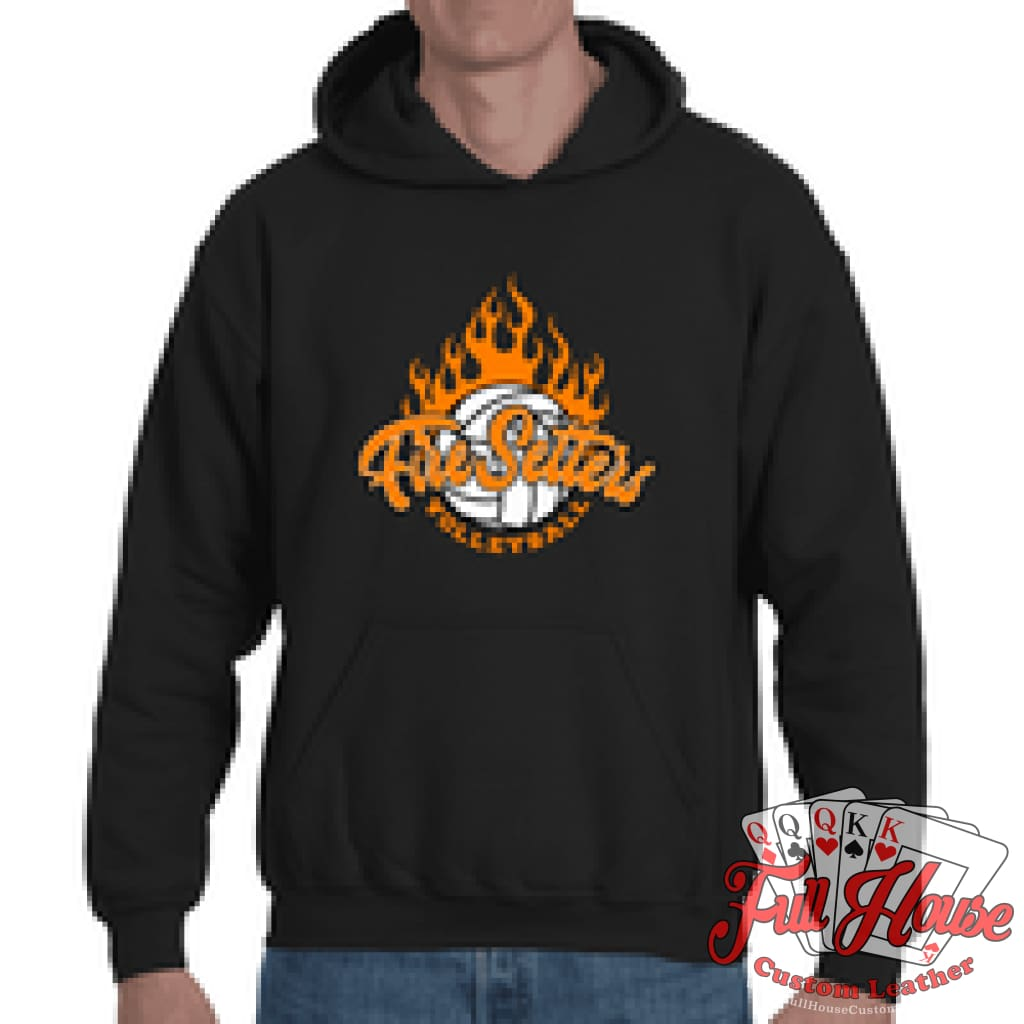 Fire Setters Adult Hoodie - Full House Custom Leather